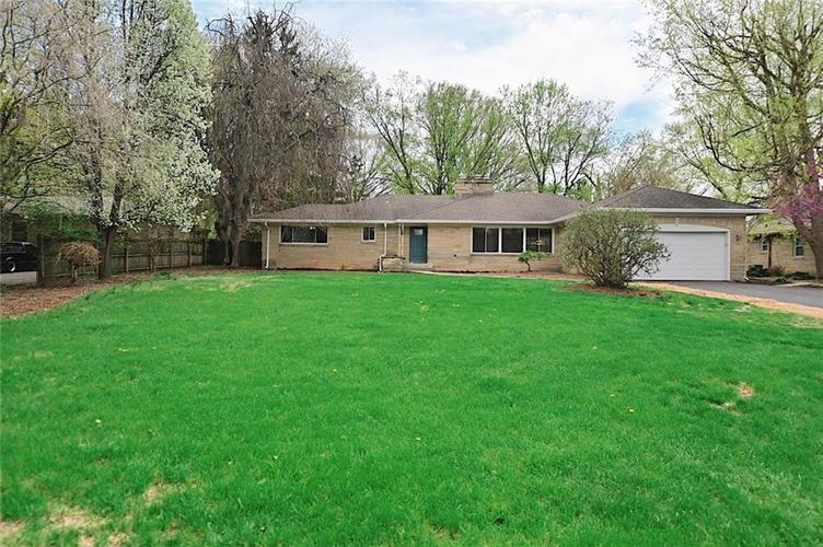 4865  Kessler Boulevard East Drive Indianapolis, IN 46220 | MLS 21625459