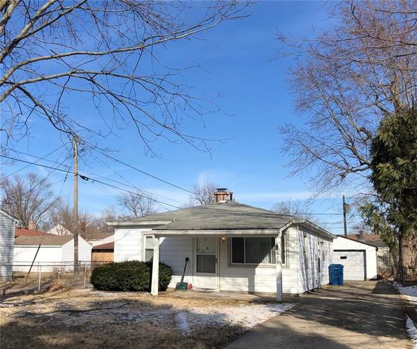 2821 S Fleming Street Indianapolis, IN 46241   MLS 21625480