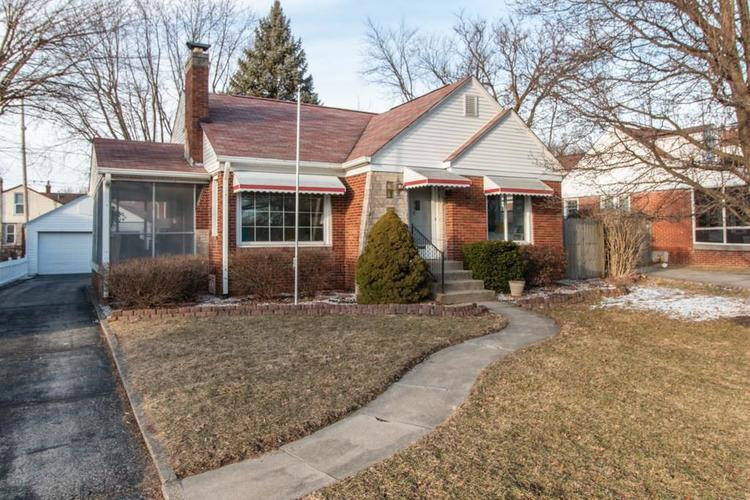 5448 E ST CLAIR Street Indianapolis, IN 46219 | MLS 21625713 | photo 1