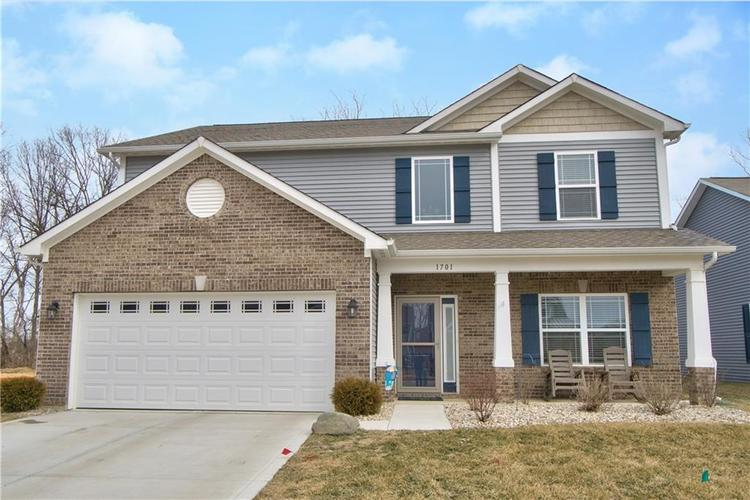1701  Wedgewood Place Avon, IN 46123 | MLS 21625729