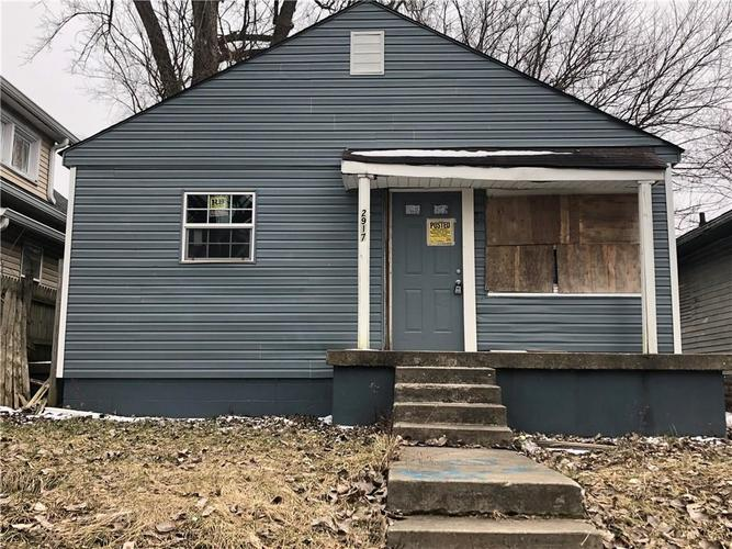2917 E 19th Street Indianapolis, IN 46218 | MLS 21625844