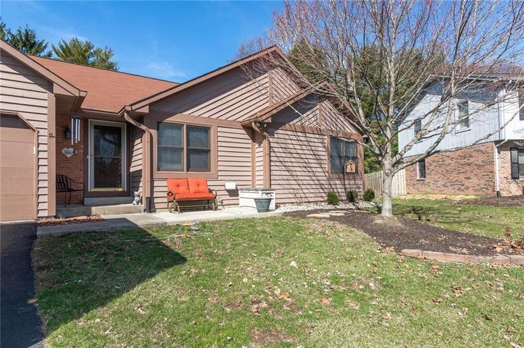 8140 W MENLO (WEST DRIVE) Court Indianapolis, IN 46240 | MLS 21626276