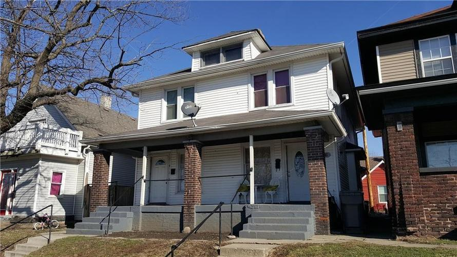 1417-1419 S East Street Indianapolis, IN 46225   MLS 21626368   photo 1