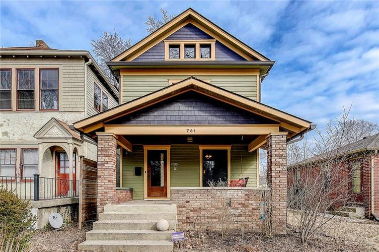 781  Woodruff Place East Drive Indianapolis, IN 46201 | MLS 21626530