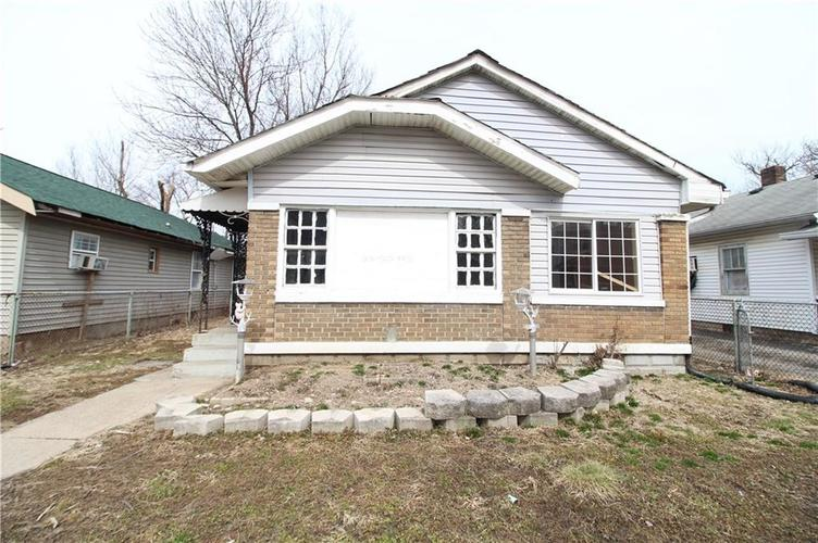 2540 E 18th Street Indianapolis, IN 46218 | MLS 21626632
