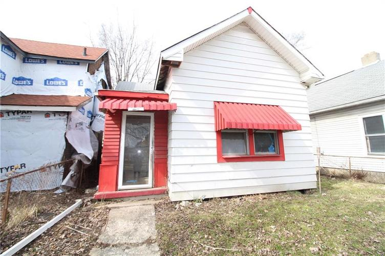 1130 S Sheffield Avenue Indianapolis, IN 46221   MLS 21626688