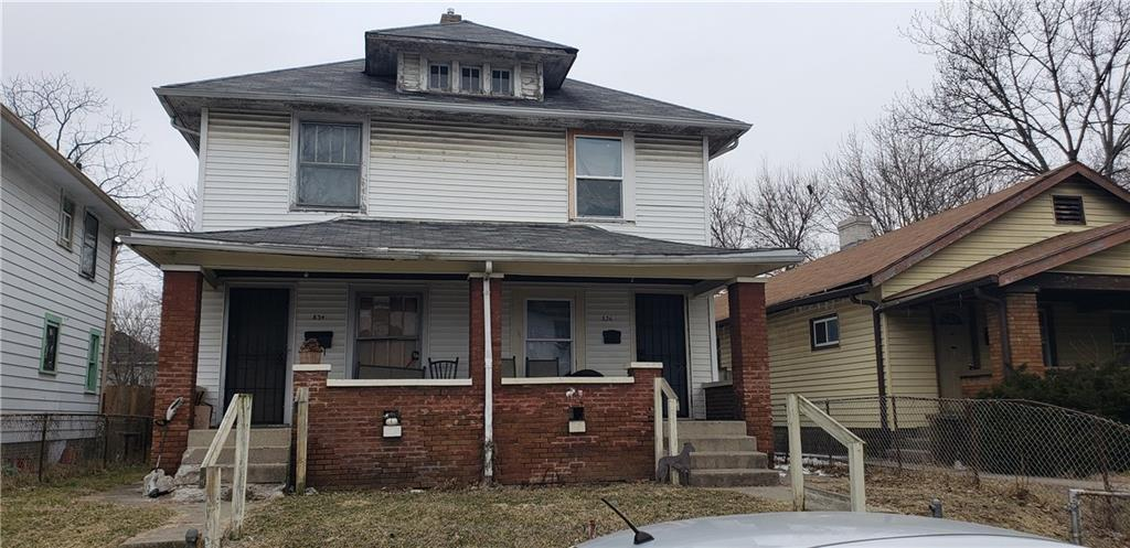 834-36 N Gray Street Indianapolis, IN 46201 | MLS 21626905 | photo 1