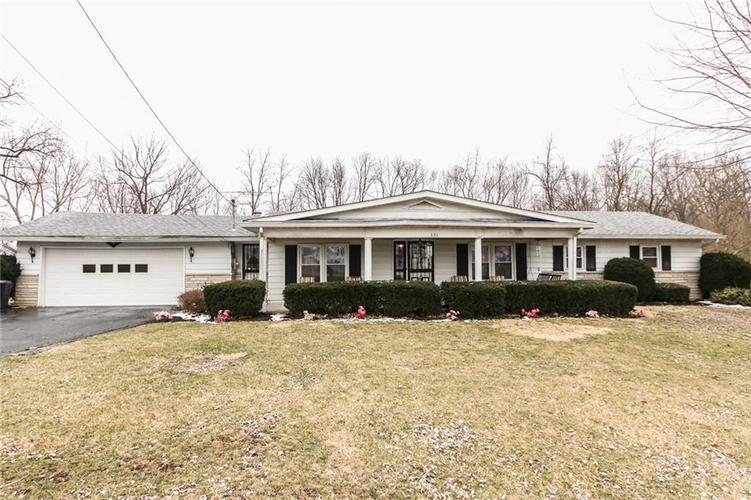 630 N Fort Wayne Road Rushville, IN 46173 | MLS 21626976