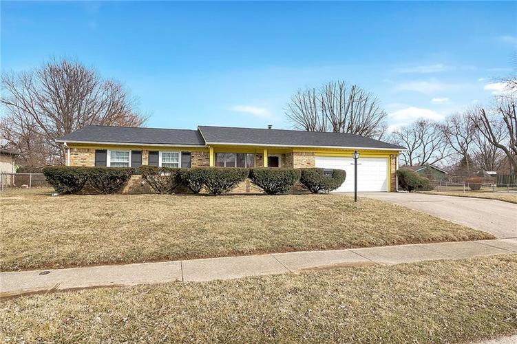 3633 N Faculty Drive Indianapolis, IN 46224 | MLS 21627092