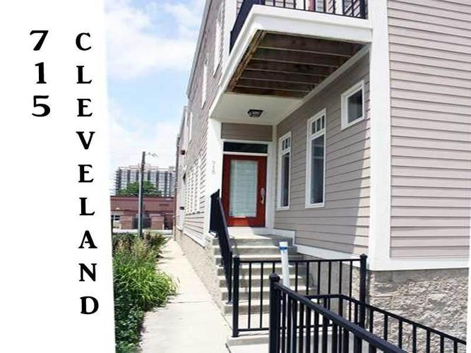 715 N CLEVELAND Street Indianapolis, IN 46202 | MLS 21627692