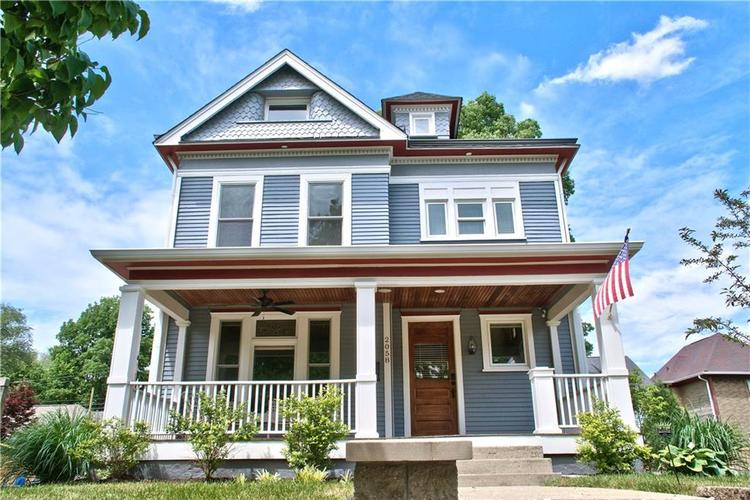 2058 N New Jersey Street Indianapolis, IN 46202   MLS 21628280