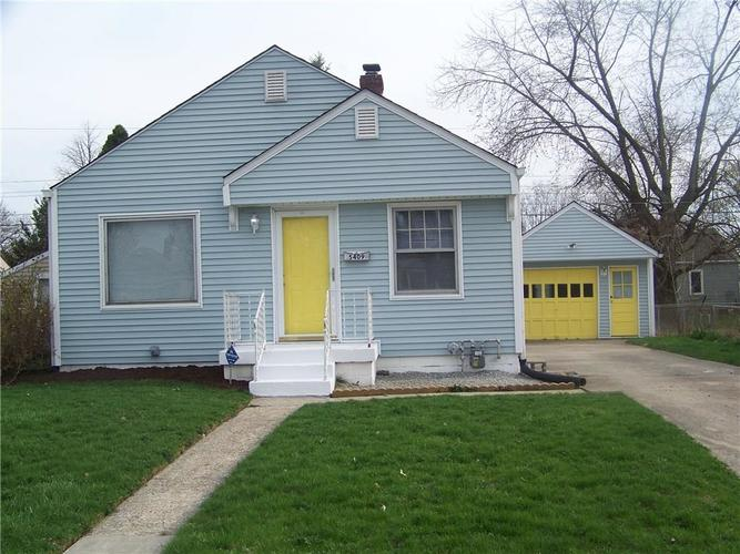 5409 E 20th Street Indianapolis, IN 46218 | MLS 21630677 | photo 1