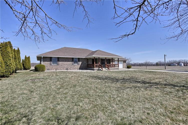 1608 E 400  Greenfield, IN 46140 | MLS 21631380