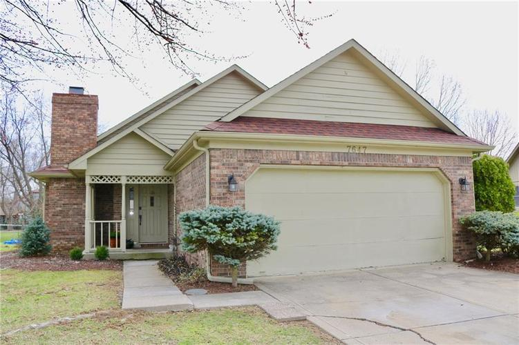 7647  GEIST VALLEY Court Lawrence , IN 46236 | MLS 21631382