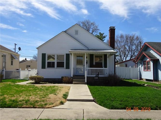 725 E Yoke Street Indianapolis, IN 46203 | MLS 21631662