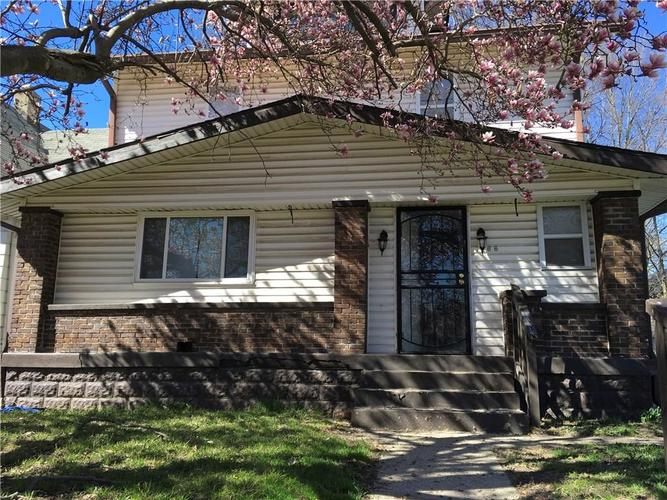 1266 W 32ND Street Indianapolis, IN 46208 | MLS 21632277 | photo 1