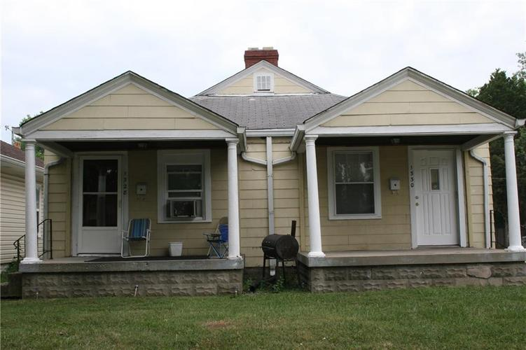 1328-1330 N Chester Avenue Indianapolis, IN 46201 | MLS 21632394 | photo 1