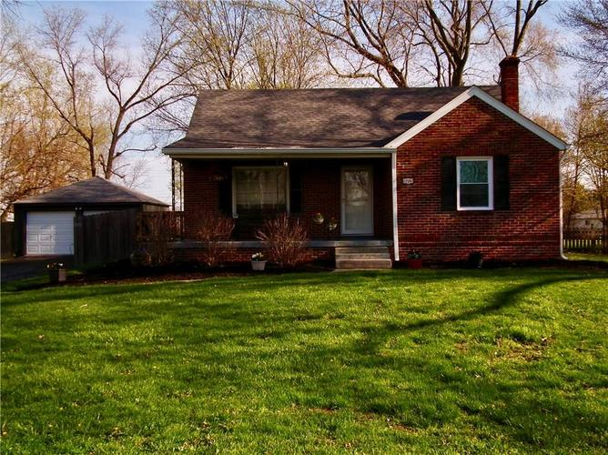 1726  Forest Drive Indianapolis, IN 46227   MLS 21633438