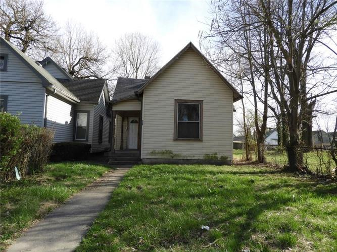 929 W Roache Street Indianapolis, IN 46208 | MLS 21633450