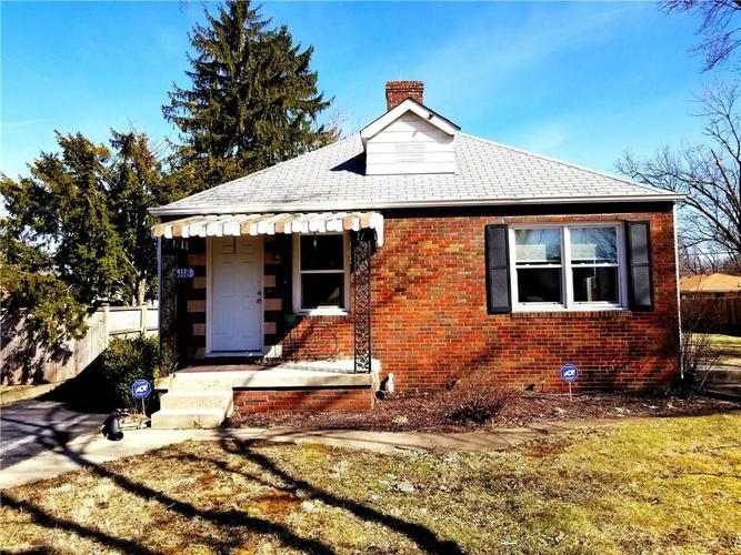 6118 E 10th Street Indianapolis, IN 46219 | MLS 21633643 | photo 1