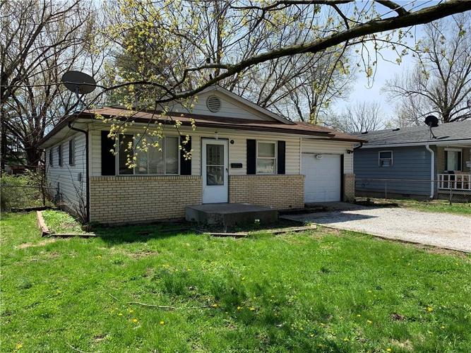 4427 W 34th Street Indianapolis, IN 46222 | MLS 21634908