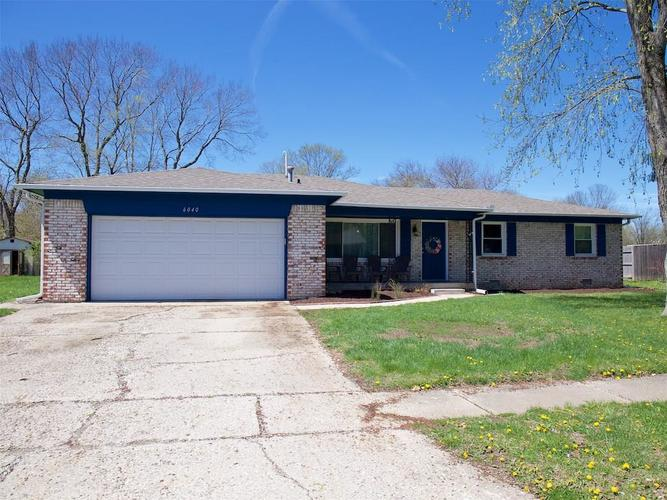 6040 S Routiers Avenue Indianapolis, IN 46259 | MLS 21634996
