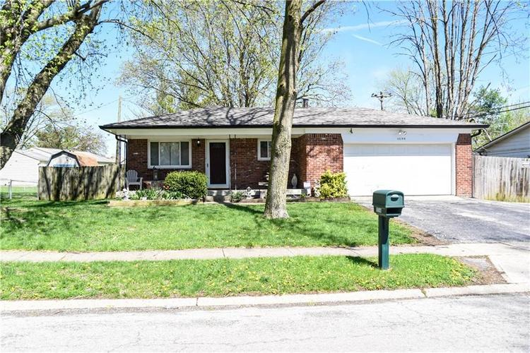 10144  CHRIS Drive Indianapolis, IN 46229 | MLS 21635125