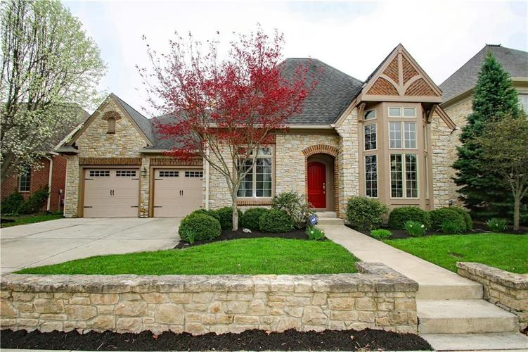 7657  Carriage House Way Zionsville, IN 46077   MLS 21636001
