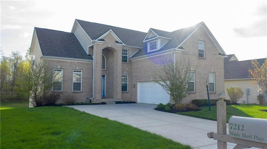 7212  MAPLE BLUFF Place Indianapolis, IN 46236 | MLS 21636328
