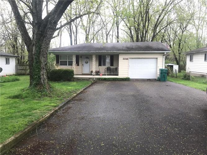 3316 Tansel Road Indianapolis, IN 46234 | MLS 21636687 | photo 1