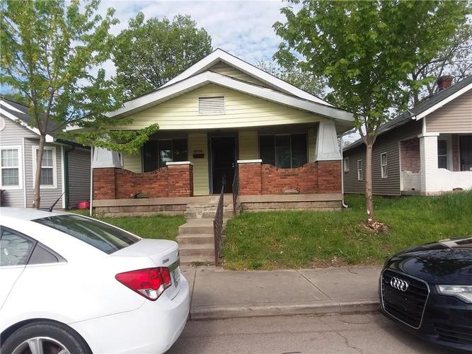 1206 N Belleview Place Indianapolis, IN 46222   MLS 21637149
