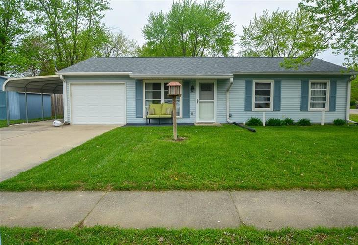 5412  WAGON WHEEL Trail Indianapolis, IN 46237 | MLS 21637676