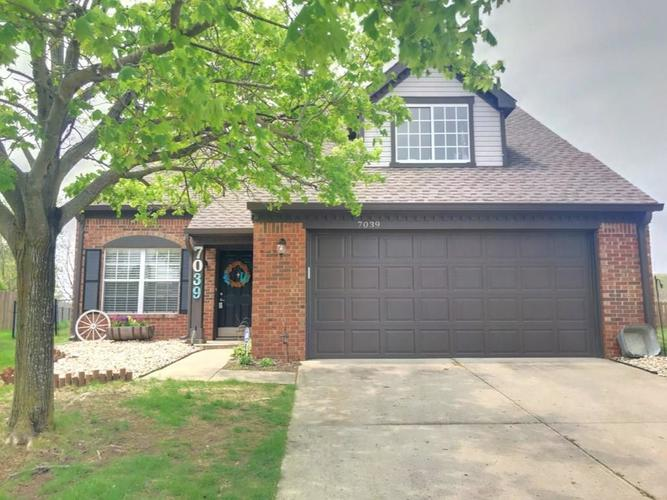 7039  Sea Eagle Court Indianapolis, IN 46254   MLS 21637809