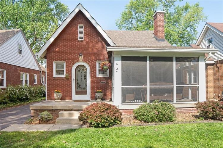 6124 Haverford Avenue Indianapolis, IN 46220 | MLS 21637923 | photo 1