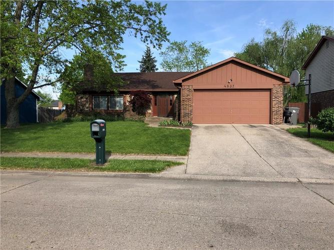 4837  Carry Back Lane Indianapolis, IN 46237 | MLS 21638541