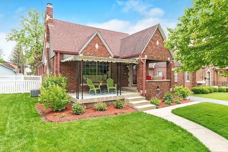 829 N Ritter Avenue Indianapolis, IN 46219   MLS 21638543   photo 1