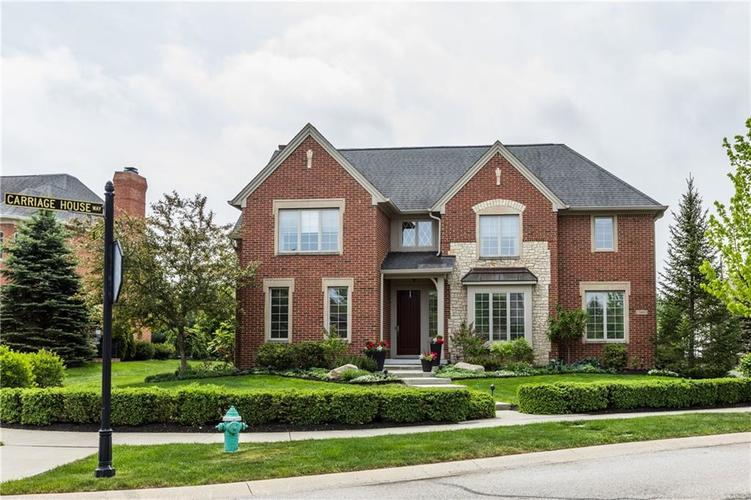 7669 Carriage House Way Zionsville, IN 46077 | MLS 21638561 | photo 46