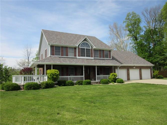 10606 N Rolling Meadows Court Mooresville, IN 46158   MLS 21639050   photo 1