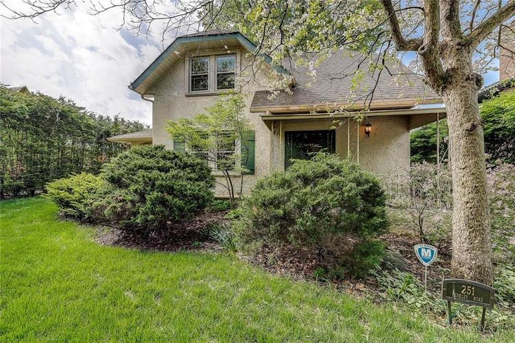 251  BERKLEY Road Indianapolis, IN 46208 | MLS 21639336