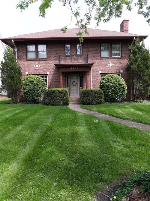 5829 Central Avenue Indianapolis, IN 46220 | MLS 21639514 | photo 1
