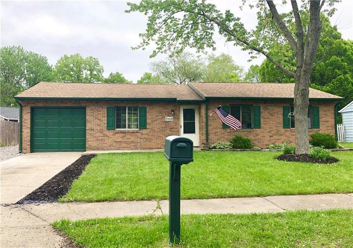 5421 Chisolm Trail Indianapolis, IN 46237 | MLS 21640011 | photo 1