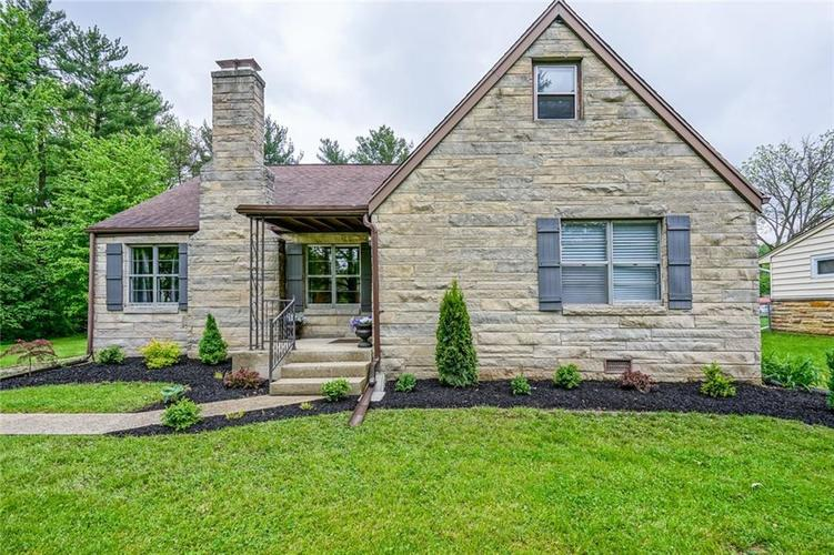 9328 Broadway Street Indianapolis, IN 46240 | MLS 21640688 | photo 1