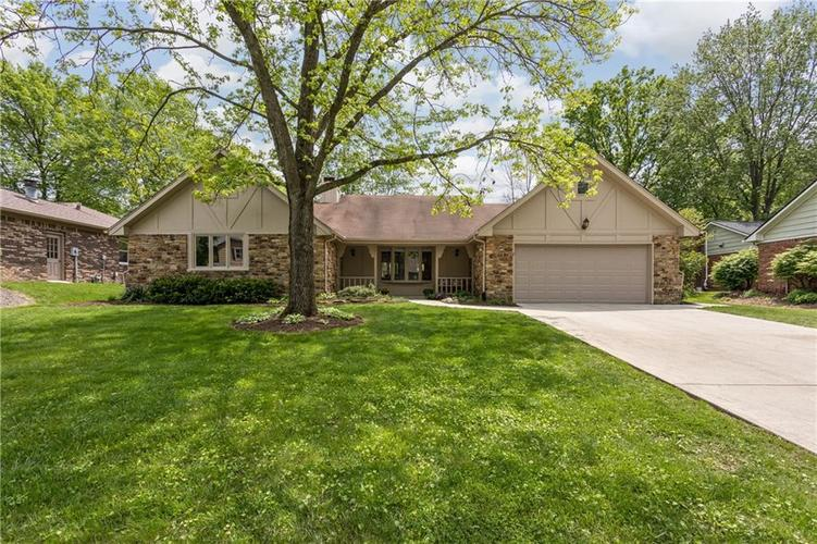 8005  Tanager Lane Indianapolis, IN 46256 | MLS 21640874