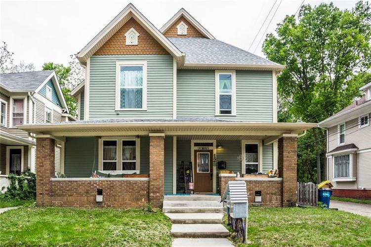 128 E 33RD Street Indianapolis, IN 46205 | MLS 21641354