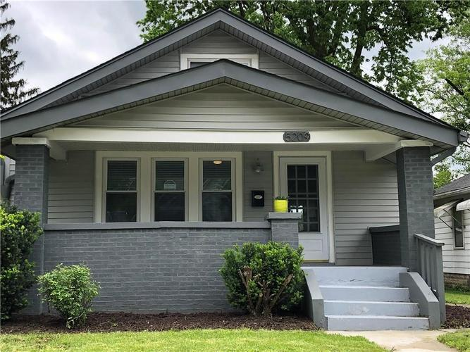 5209 E North Street Indianapolis, IN 46219 | MLS 21641721