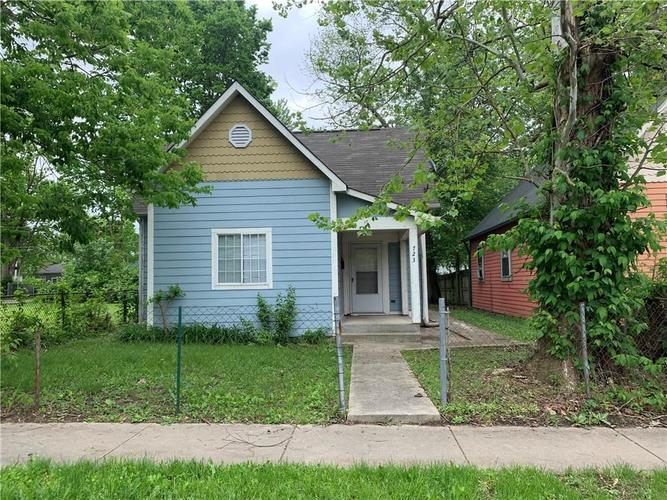 723 N CONCORD Street Indianapolis, IN 46222 | MLS 21641750