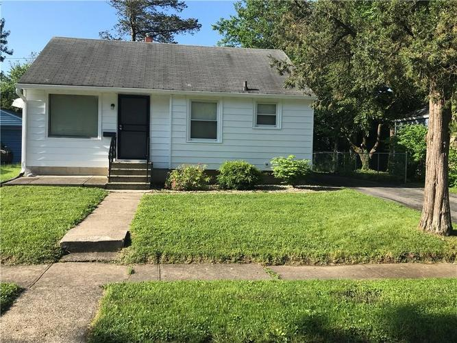 5209 E 20TH Place Indianapolis, IN 46218 | MLS 21642576