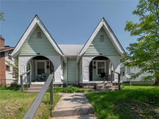 4810-4812 E 10TH Street Indianapolis, IN 46201 | MLS 21642595 | photo 1