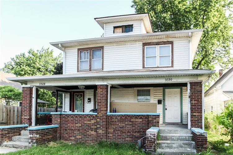 3328 E New York Street Indianapolis, IN 46201 | MLS 21643508
