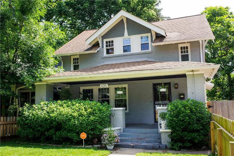 4315 N COLLEGE Avenue Indianapolis, IN 46205 | MLS 21643650 | photo 2